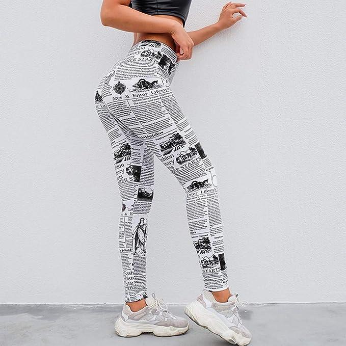 Amazon.com: Fudule Pants,Leggings for Women Yoga Pants Tummy ...