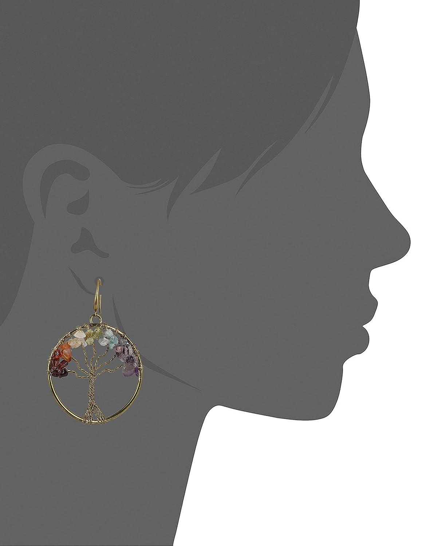 My Meera Store Tree of Life Earrings