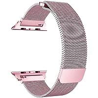 Pulseira Apple Watch Milanese Loop 38mm Pink Rosê