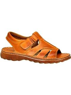 pour Homme Reel Cuir De Bison en Forme Orthopedique Chaussures Sandales  Modele 835 7fb69131074b