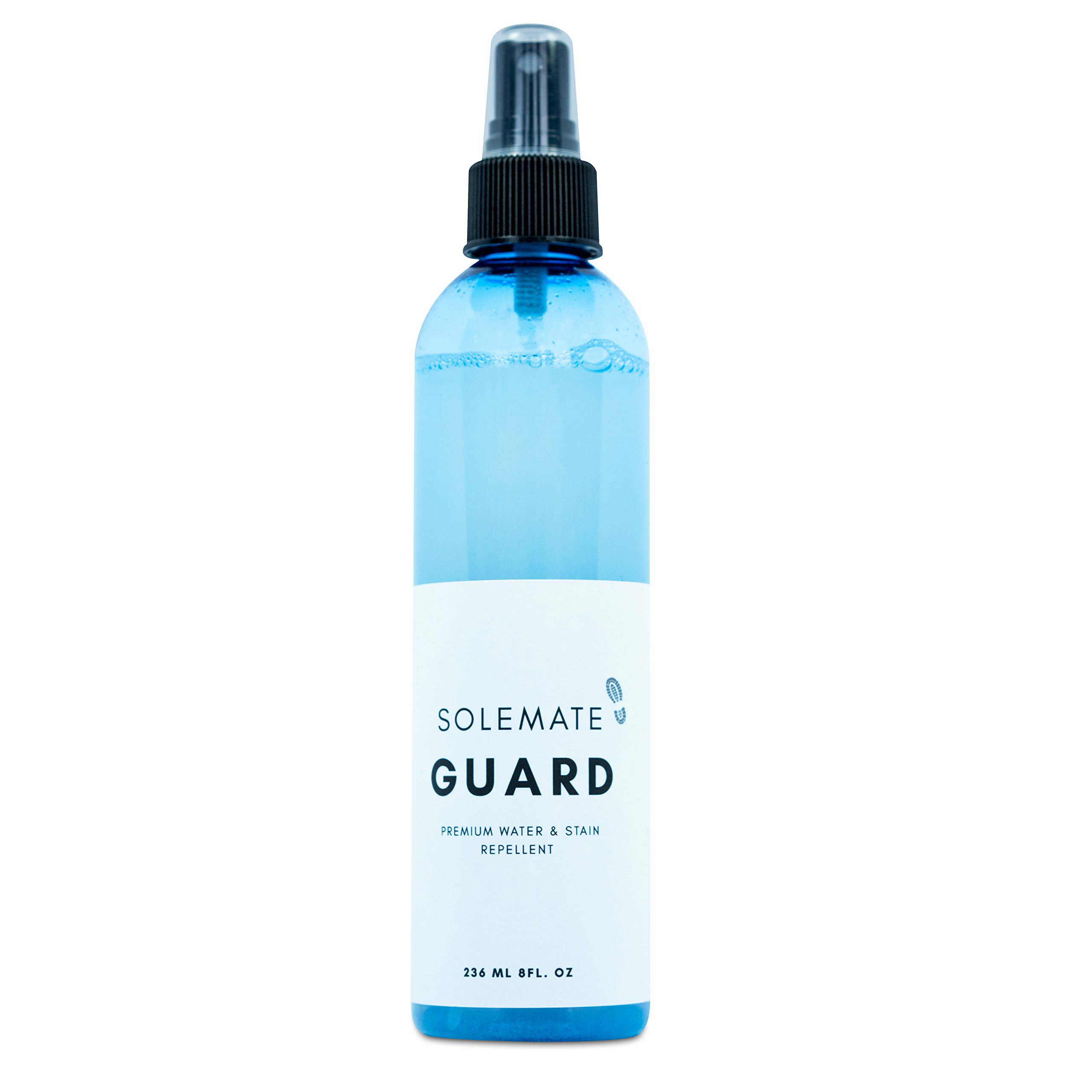 Solemate Guard - Premium Water & Stain Repellent - Waterproof and Protect Suede, Leather, Nubuck, Fabric, Nylon, Polyester & More - Sneakerhead Protector for All Sneakers, Shoes, Boots, Accessories