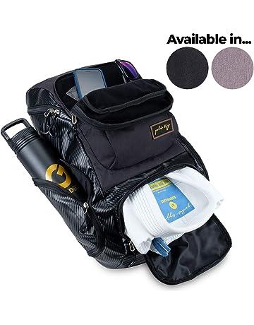 d63abf0c50 Gold BJJ Jiu Jitsu Backpack - Heavy Duty Gym Bag with Waterproof Gi Pocket
