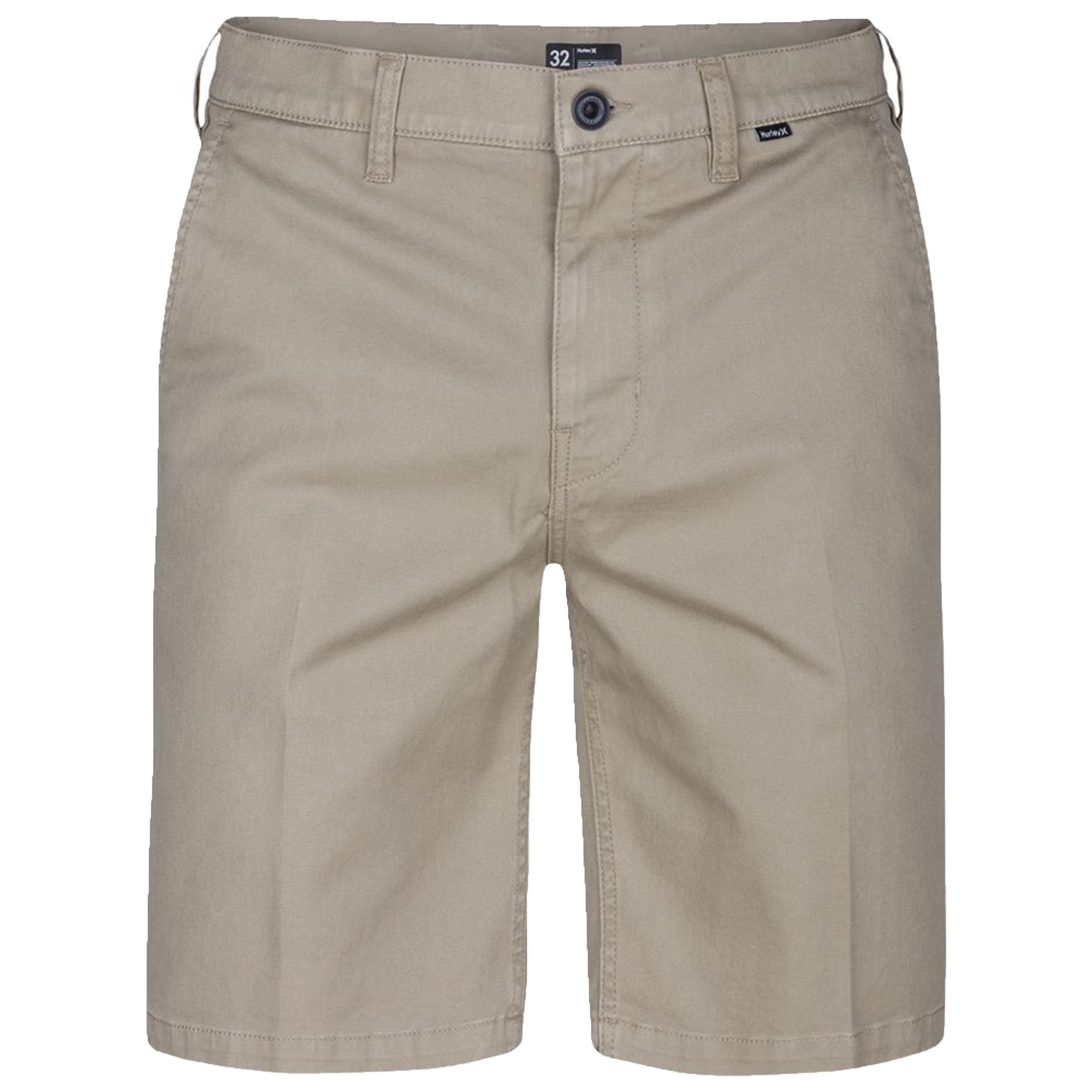 Hurley Men's One & Only Chino 2.0 Walkshort, Khaki, 30