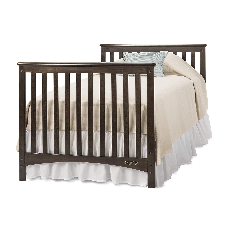 Childcraft London 2-In-1 Mini Convertible Crib – Slate