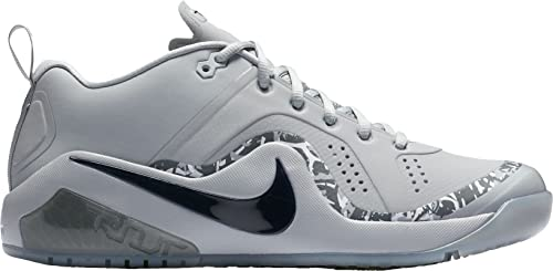 cheap for discount ab457 d2ecc Nike Men's Force Zoom Trout 4 Turf Baseball Trainers (9, Grey/Black)