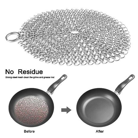 obaile cocina limpia herramientas limpiador de estropajo de ...