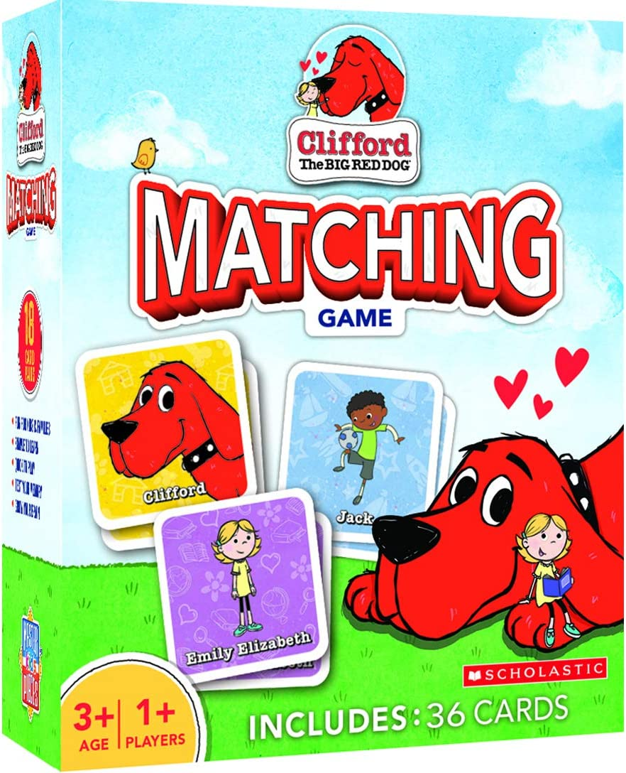 MasterPieces Clifford Big Red Dog Matching Game