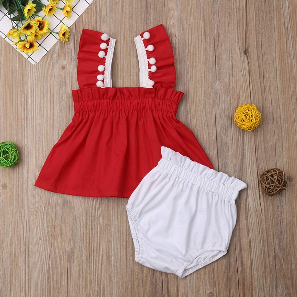 Shorts Summer Set Girls Holiday Sunsuits Beach Clothes Baby Children Clothes Sets 2019 Girls Sleeveless Solid Cotton Tops