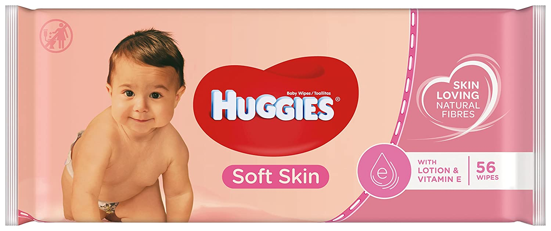 Huggies, Toallitas húmedas 20 paquetes de 56 unidades: Amazon.es: Salud y cuidado personal