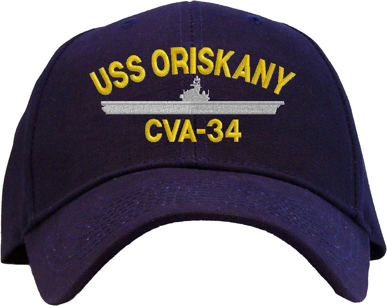 USN Ship Baseball Cap USS Oriskany CVA-34 Hat