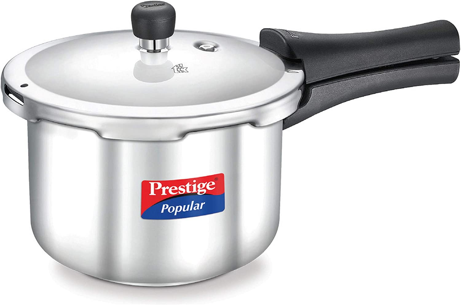 Prestige Popular Stainless Steel Pressure Cooker, 3 litres