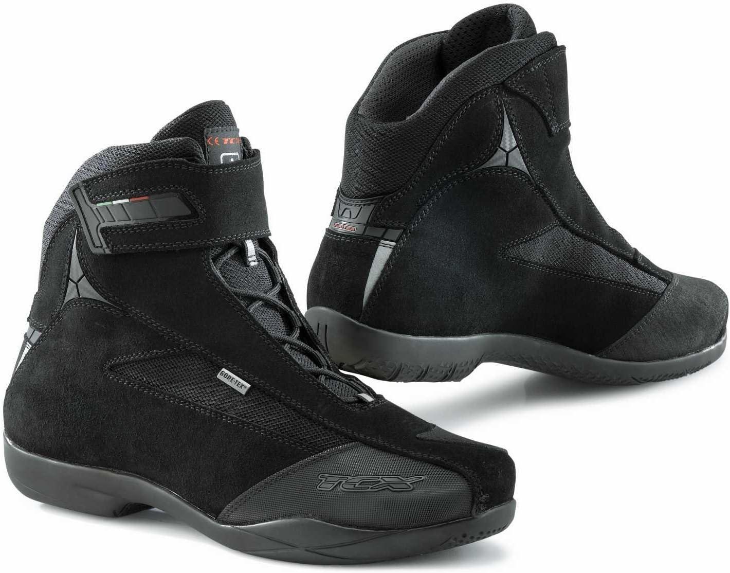 TCX Fuel Waterproof Motorcycle Riding Boots Vintage Brown Men/'/'s