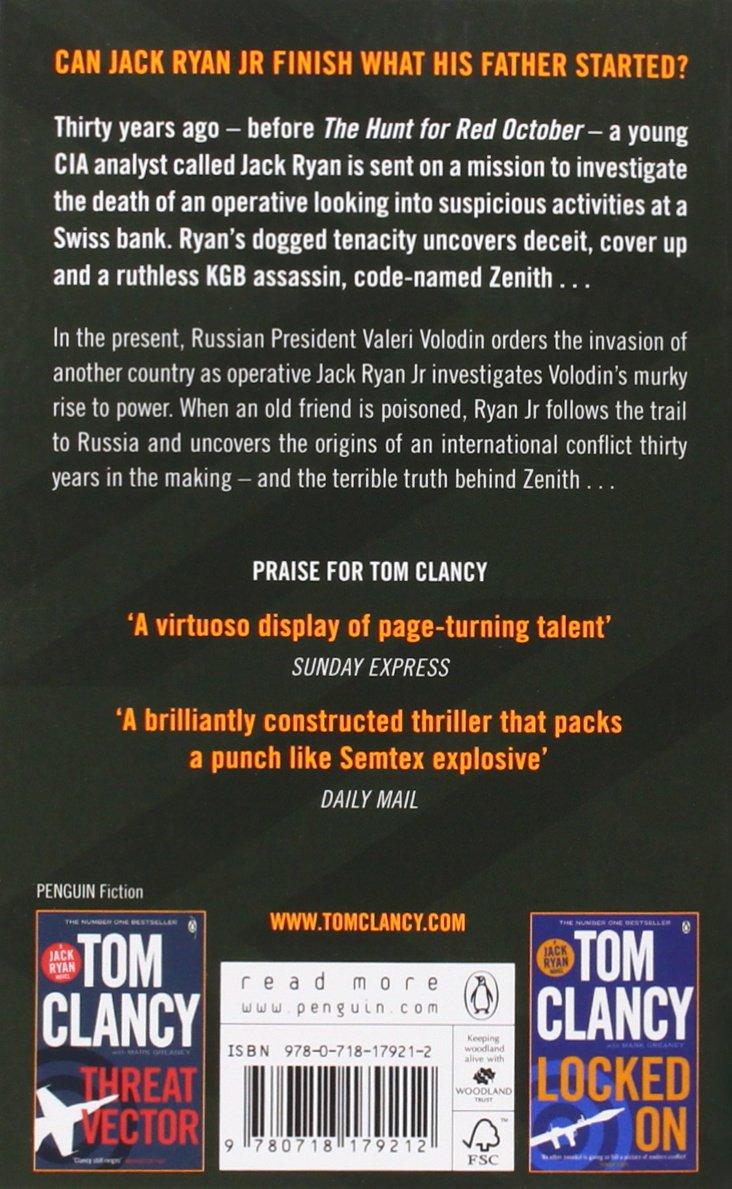 Command Authority: Clancy Tom Telep Peter: 9780718179212 ...