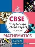 CBSE Chapterwise 2016-2009 Mathematics Class 12th