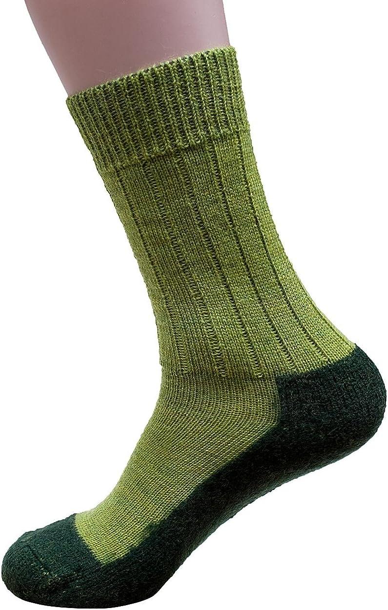 Hirsch natur Socke Sternmuster 100 /% Schurwolle Größe 38//39 mit neuer Sohle
