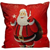 Zolimx Weihnachten Schlafsofa Hauptdekoration Festival Kopfkissenbezug Kissenbezug