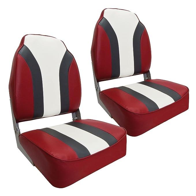 Redline Waterside/2er Set High Back Pro Bootssitz Boat Seat