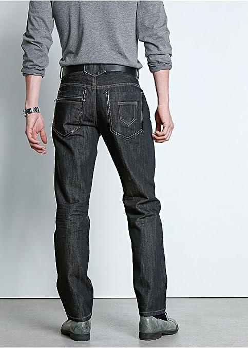 e8d6edc9fbc0 Herrenjeans Gr. 32 33 34 36 38 40 Inch 32 lang schwarz regular fit Jeans  Hose NEU (34)  Amazon.de  Bekleidung