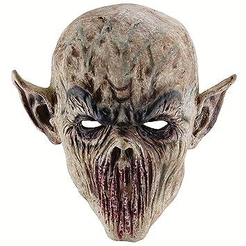 Bestoyard Mascara De Halloween Mascara De Miedo Monster Mascara De - Mascaras-de-halloween-de-terror