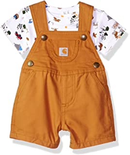 13bb87286 Amazon.com: Carhartt Baby Boys' Bib Overall: Clothing