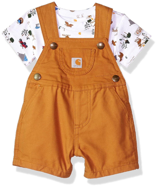 9bc81e799 Amazon.com: Carhartt Baby Boys 2 Piece Set: Clothing