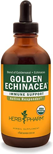 Herb Pharm Certified Organic Golden Echinacea Liquid Extract