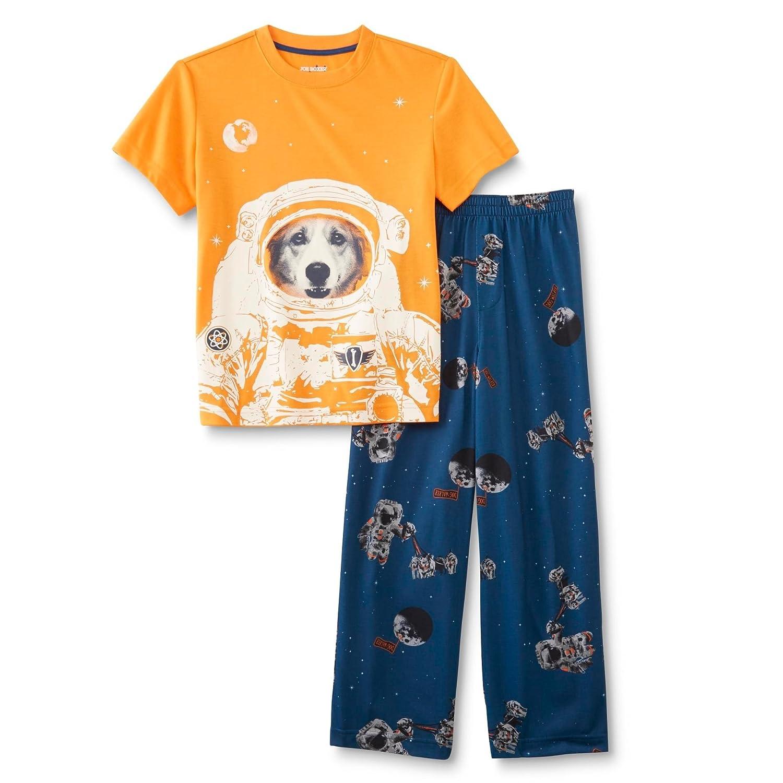 Amazon.com: Little Boys Joe Boxer Space Dog Pajamas Size XS 4/5 ...