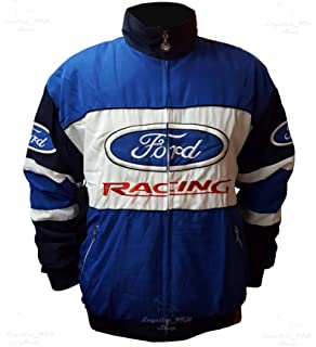 Ford Racing Jacket For Men And Women M L Xl Xxl Blue