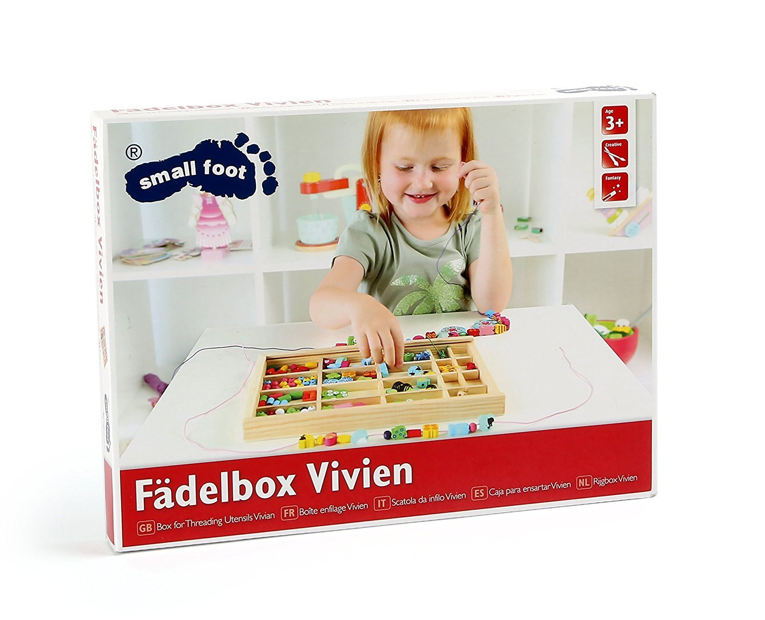 Legler Vivien Beading Box From 3 Years by Small Foot