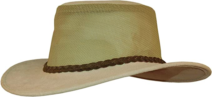 Sombrero de Piel Original de Kakadu con Red de ventilación ...