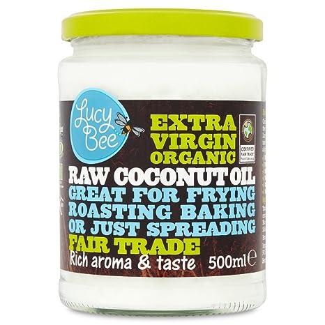 Lucy Bee reines Fair-Trade Bio-Kokosöl nativ extra 500 ml: Amazon.de ...