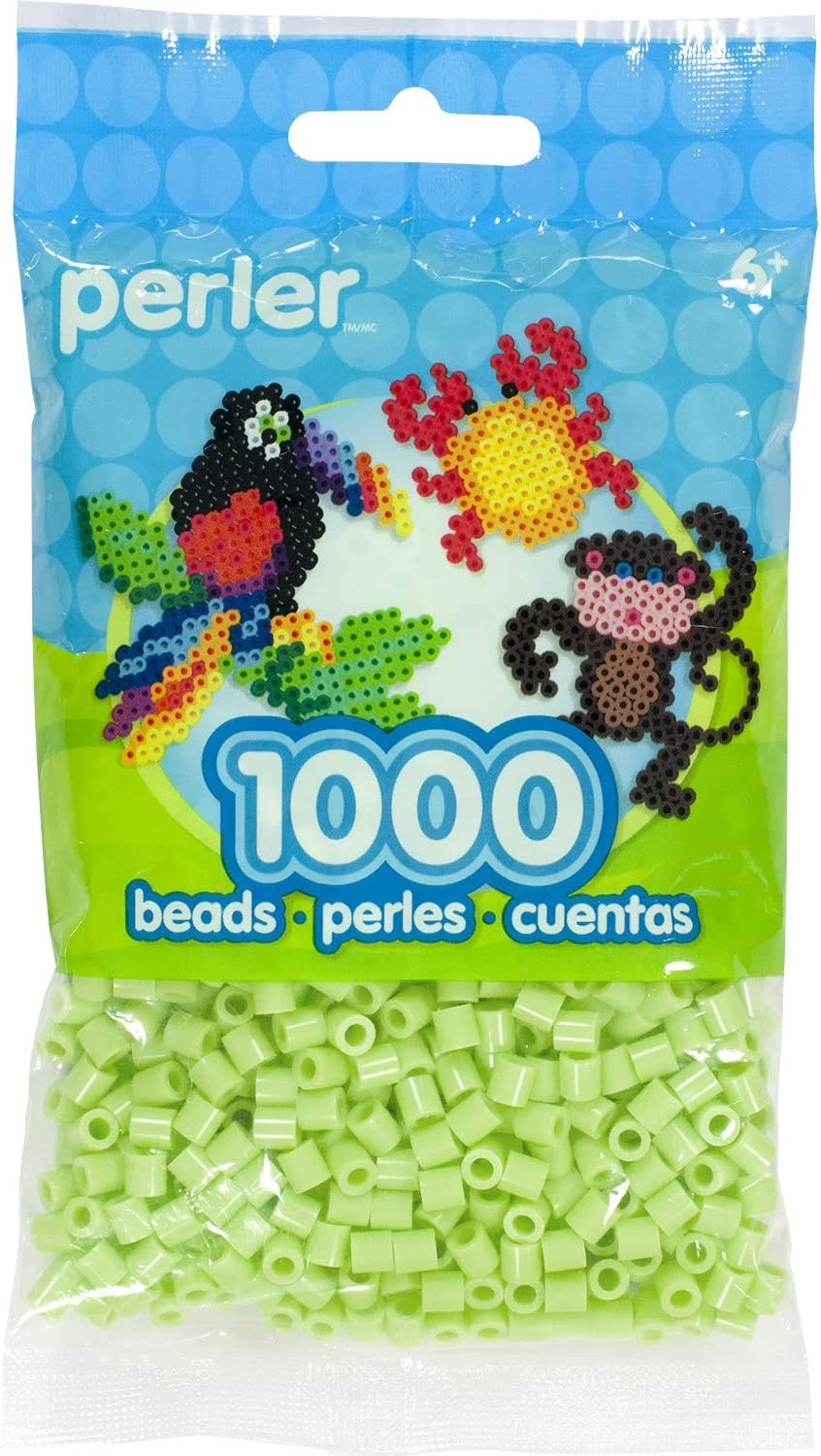 Perler Fuse Beads For Crafts, Sour Apple