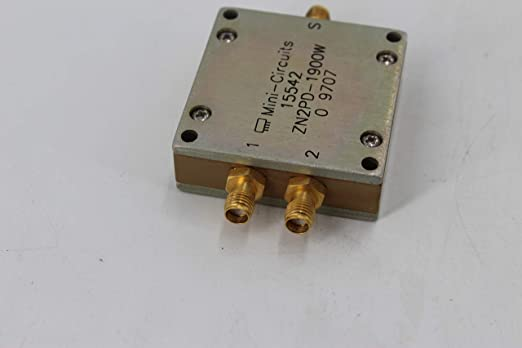 Amazon com: Mini Circuit ZN2PD-1900W Coaxial Power Splitter