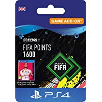FIFA 20 Ultimate Team - 1600 FIFA Points DLC - PS4 Download Code - UK Account