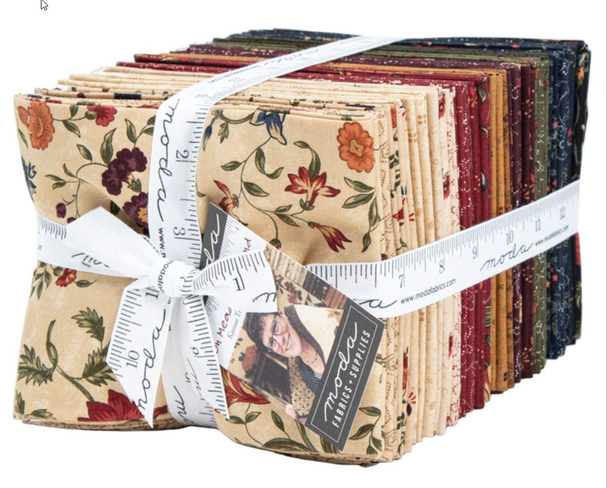 On Meadowlark Pond 40 Fat Quarter Bundle by Kansas Troubles Quilters for Moda Fabrics 9590AB