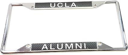 NCAA UCLA Bruins Laser Inlaid Metal License Plate Tag