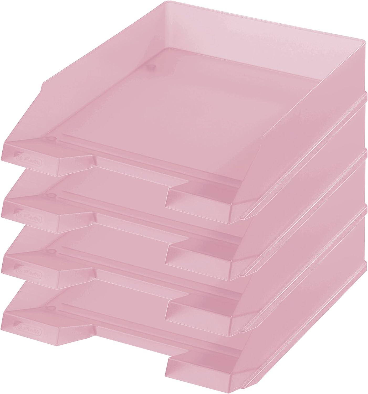 Briefkorb C4 orang/'tr Briefablage Dokumentenablage Ablagekorb Ablagebehälter