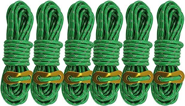 3mm 20 Meters Outdoor Reflective Tent Guy Line Rope Camping Cord Paracord
