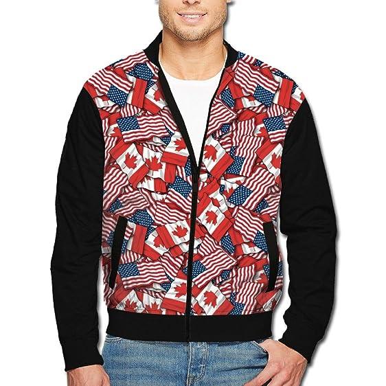 Men American Flag Pattern Vest 9Vot7HZEMz