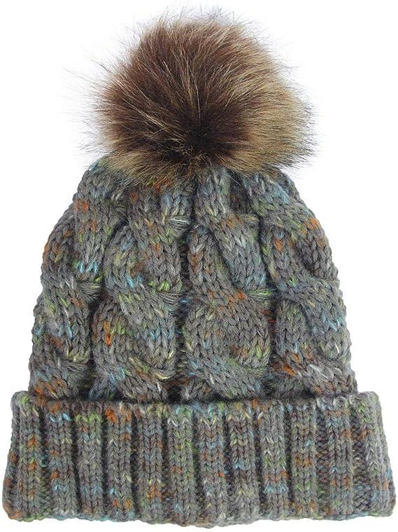 Hiver Chaud Chapeaux amilses Bonnet de Bonnet tricot/é pour Femmes