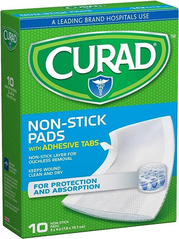 Curad CUR47148NRB Medium Non-Stick Pads