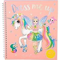 Depesche 10467 kleurboek Dress Me Up, Ylvi and the Minimoomis, ca. 19 x 17,7 x 1,5 cm, 1 Stuk