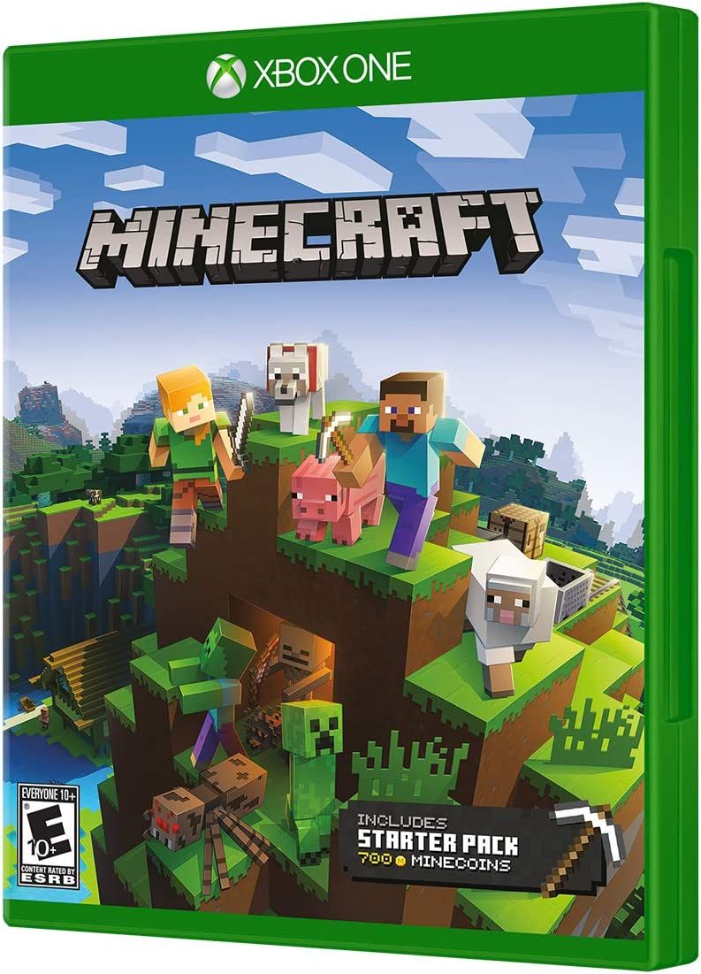 Minecraft Starter Collection - Xbox One: Amazon.com.br: Games