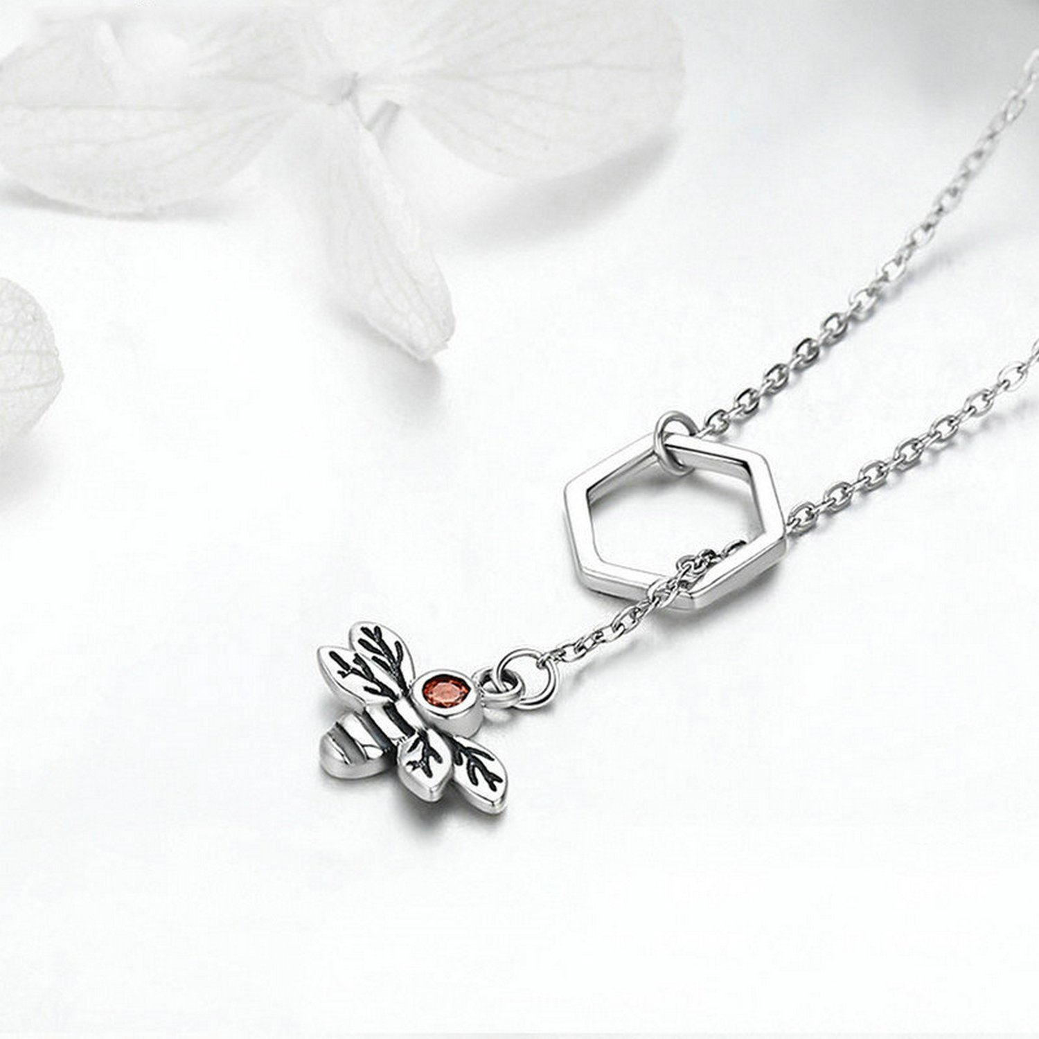 CS-DB Jewelry Silver Hand Chain Charm Pendants Necklaces