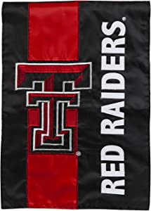Team Sports America Texas Tech Embellished Garden Flag - 13 x 18 Inches