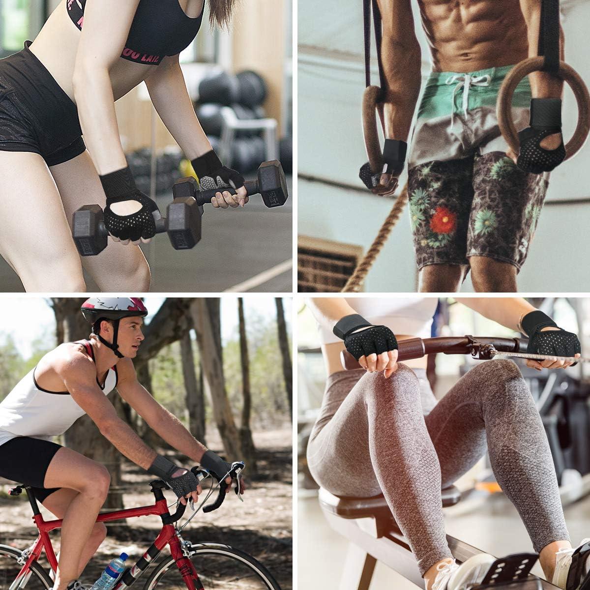 M Gewichtheben Handschuhe Bodybuilding Kraftsport /& Crossfit flintronic Fitness Handschuhe Trainingshandschuhe f/ür Damen und Herren Trainingshandschuhe Sporthandschuhe f/ür Fitness