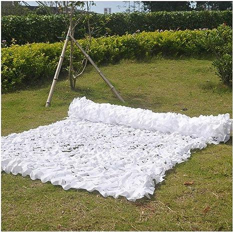 Sombra de jardín Vela Toldo al Aire Libre Protección Ultravioleta de poliéster Dormitorio Oculto jardín decoración Red de Camuflaje con Filtro Solar Gran jardín para esconder tiros de Caza,6 * 8: Amazon.es:
