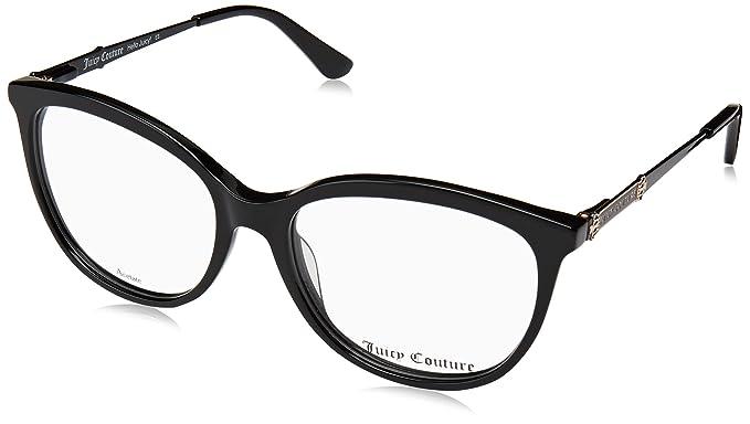 789e8b7cf13 Amazon.com  Eyeglasses Juicy Couture Ju 167 0807 Black  Clothing