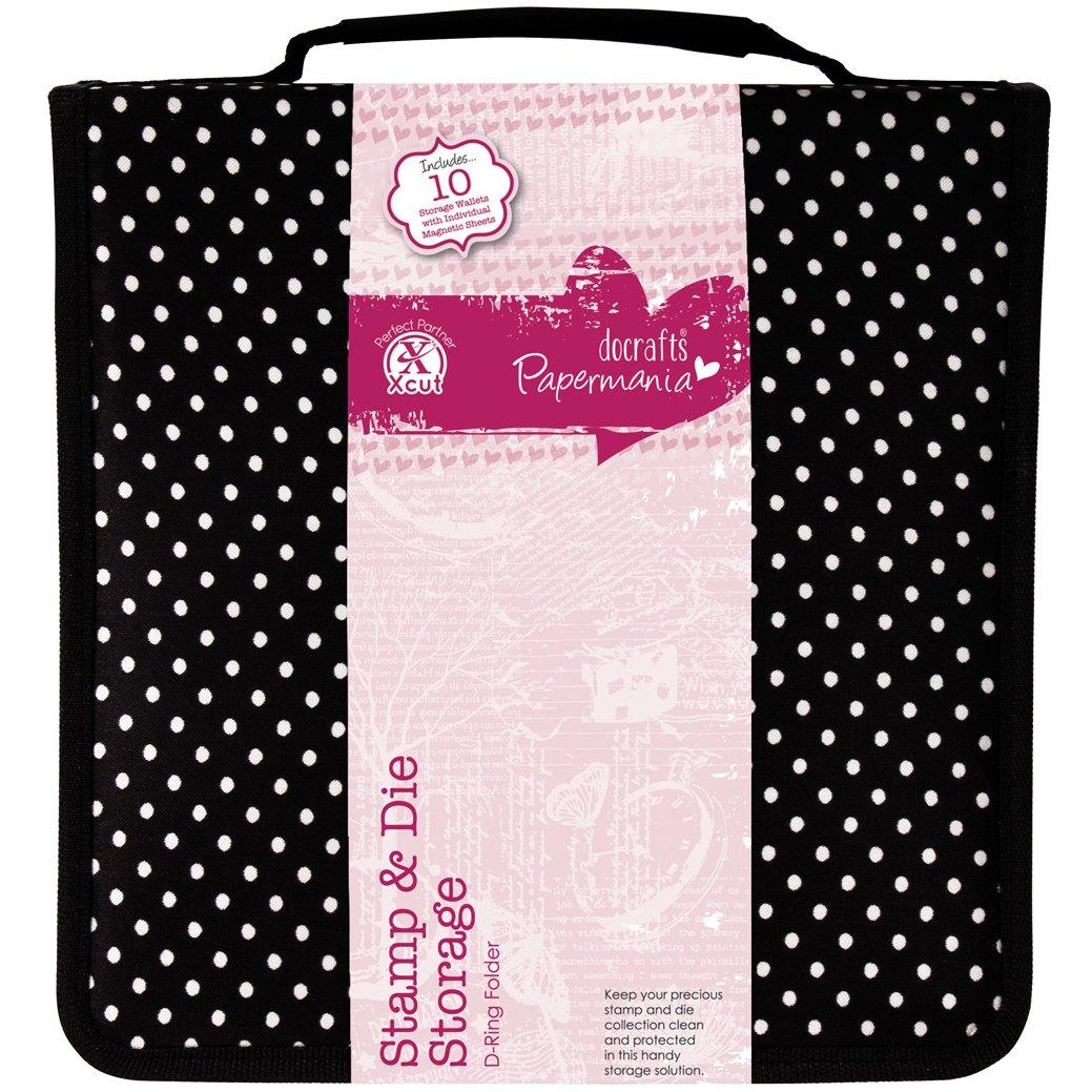 Papermania Tampons avec portefeuille et pochette de rangement