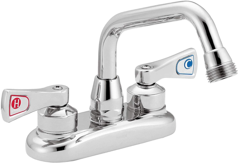 Moen 8277 Commercial M-DURA 4-Inch Centerset Utility Faucet, Chrome